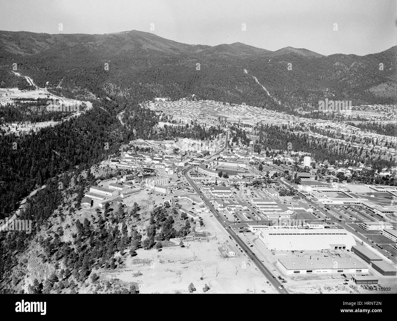 Los Alamos, 1950 - Stock Image
