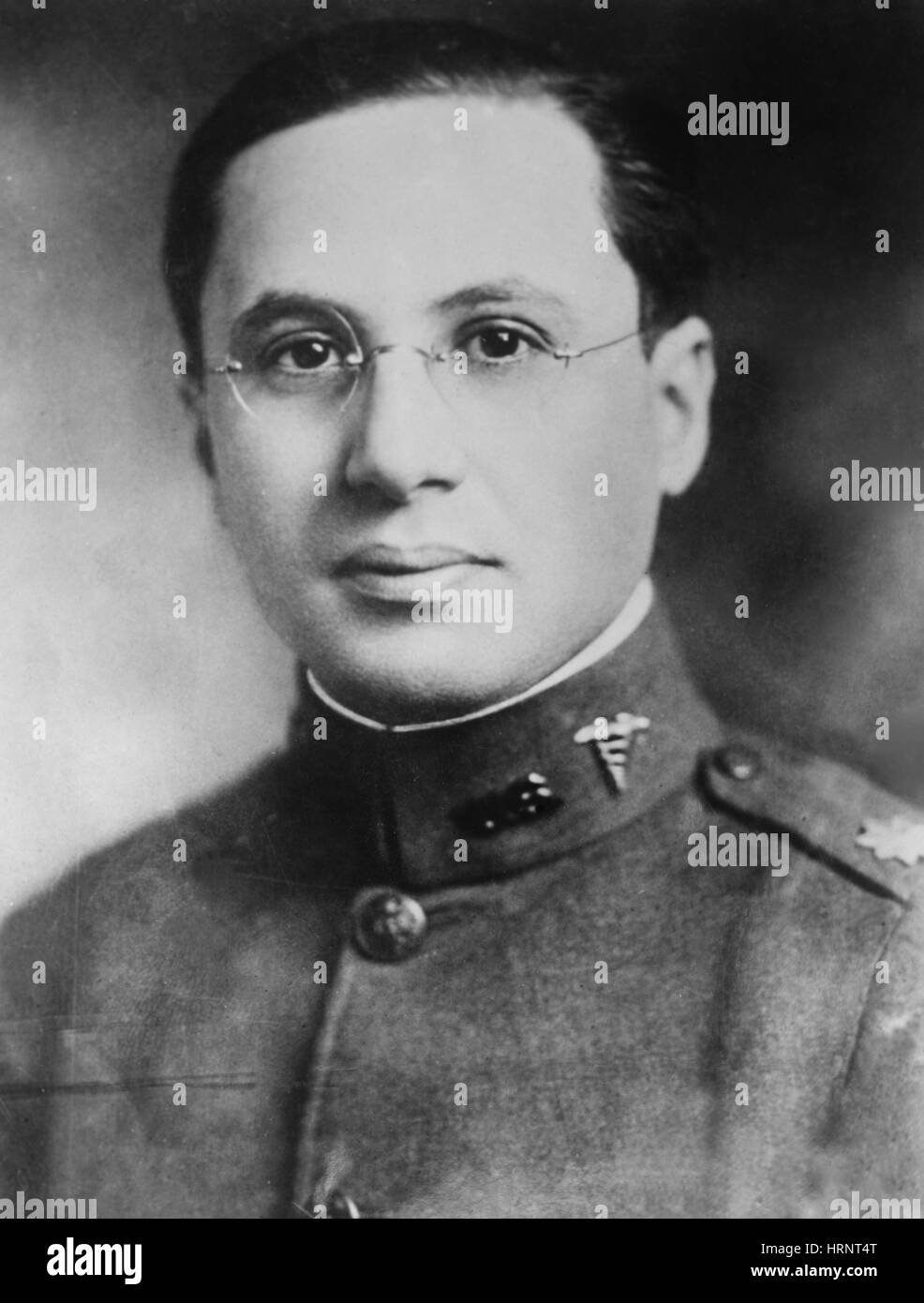 Colonel Harry Plotz, American Bacteriologist - Stock Image