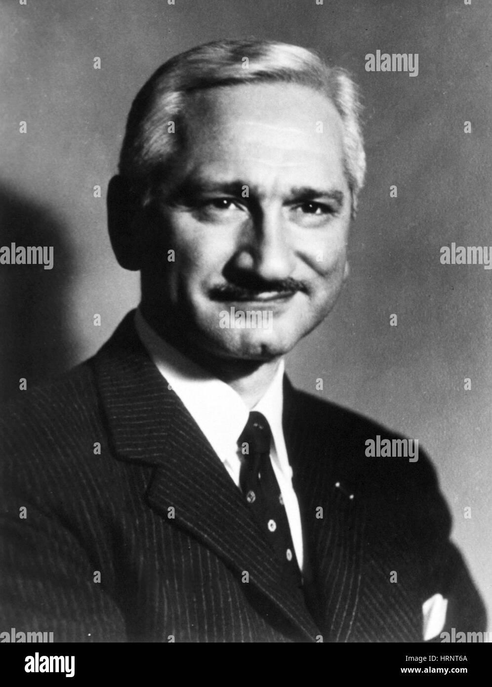 Albert Bruce Sabin, American Virologist - Stock Image
