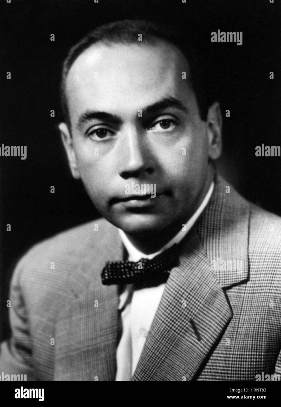 Earl W. Sutherland, American Biochemist - Stock Image