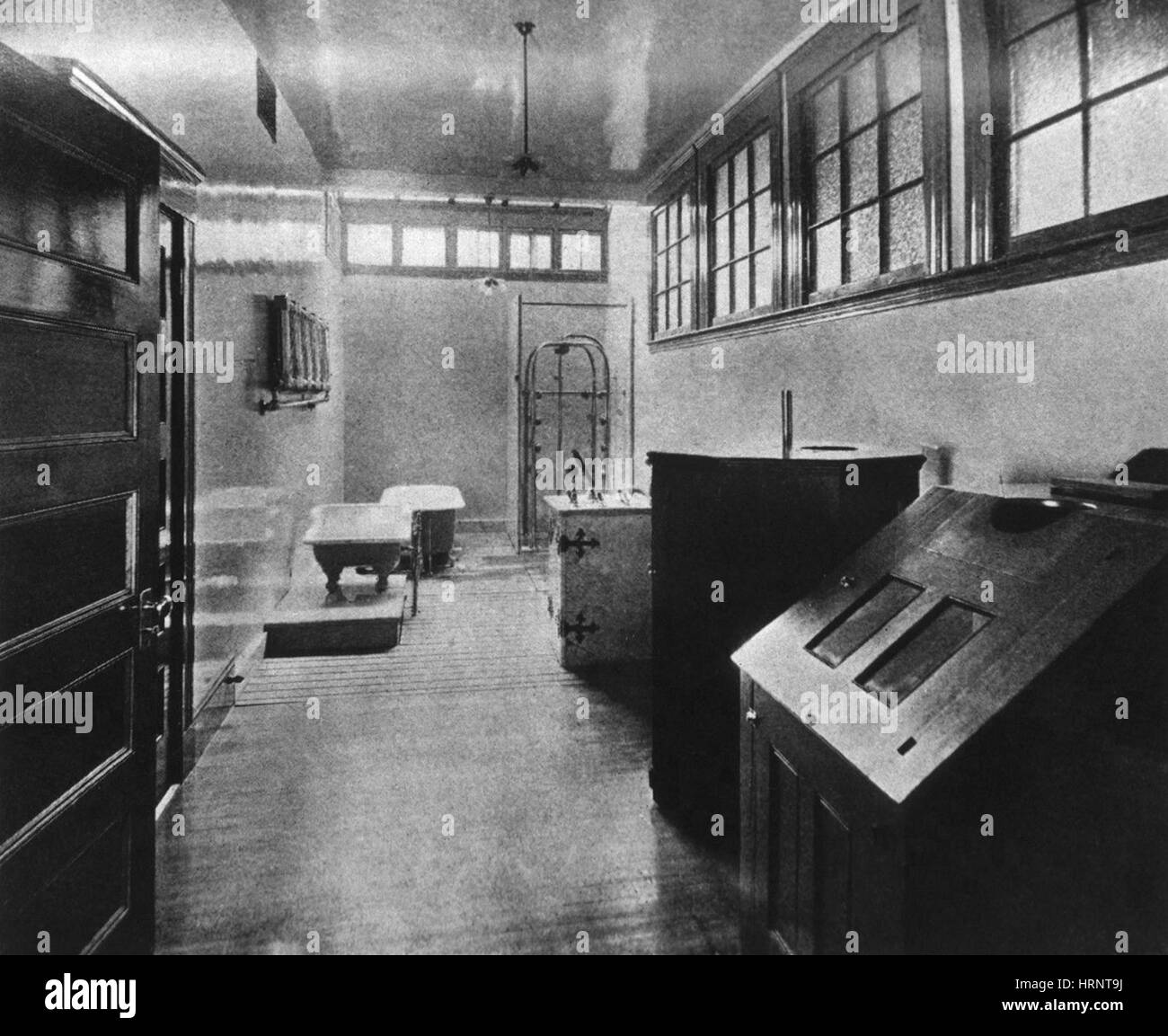 Hydropathic Room, 1904 - Stock Image