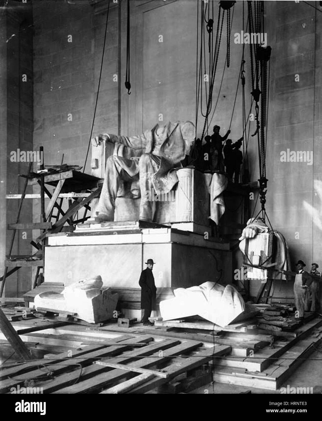 Lincoln Memorial, 1920 - Stock Image