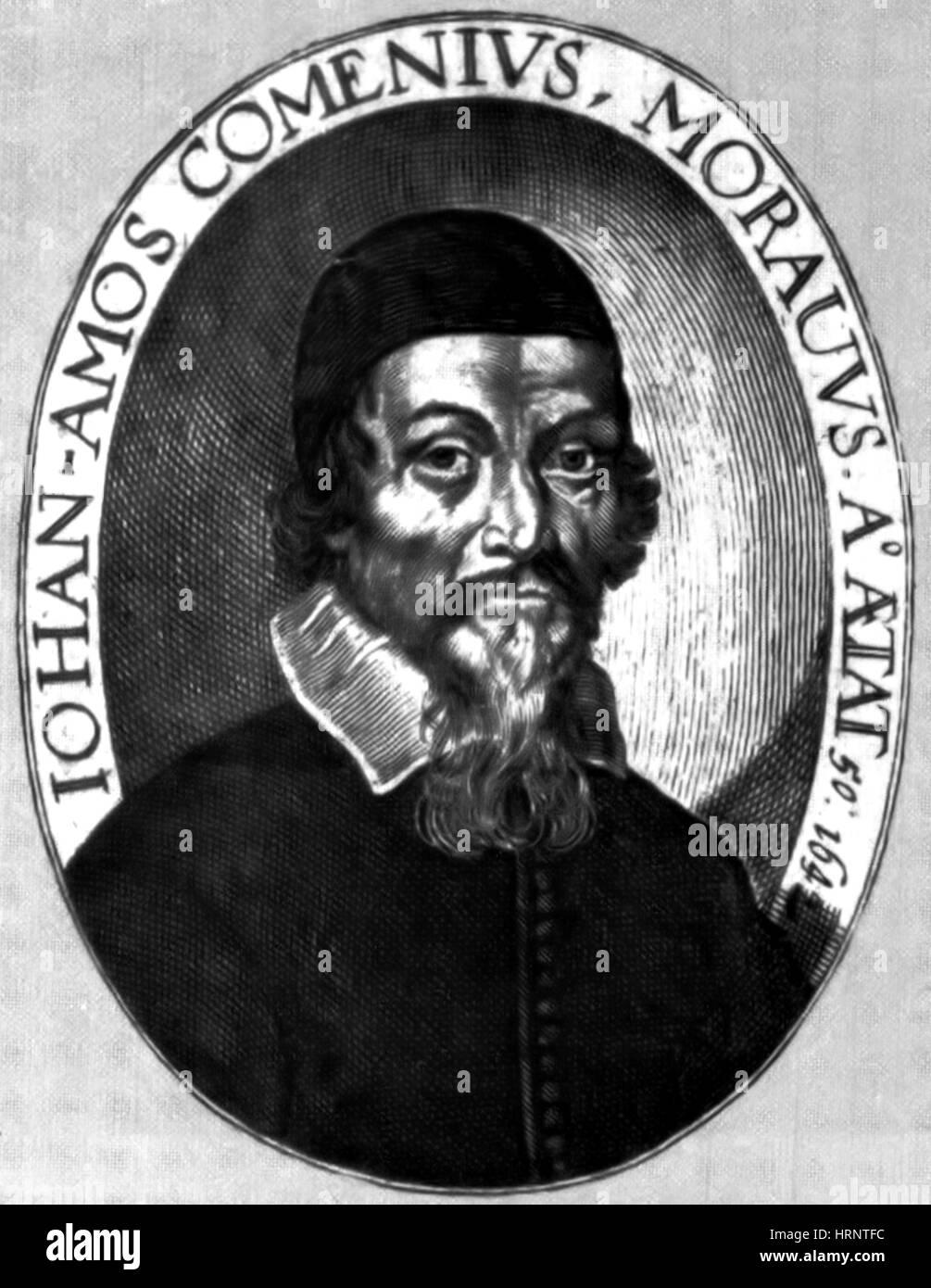 Johann Amos Comenius, Czech Educator - Stock Image