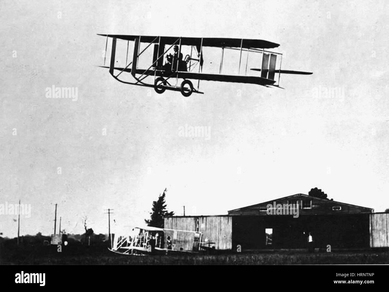 Wright Flyer Model E, 1913 - Stock Image