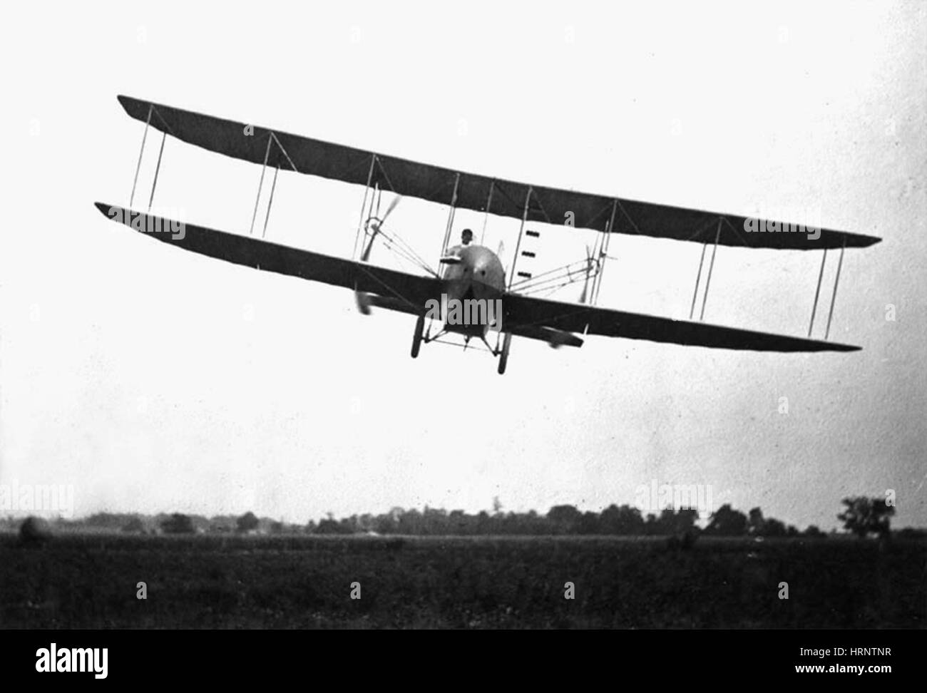 Wright Flyer Model H, 1914 - Stock Image
