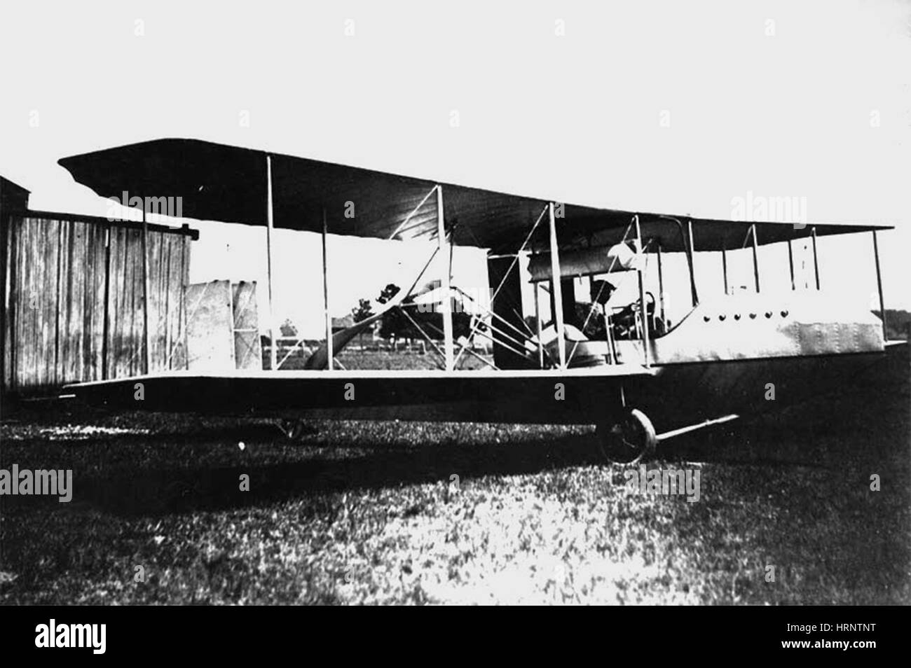 Wright Flyer Model F, 1914 - Stock Image