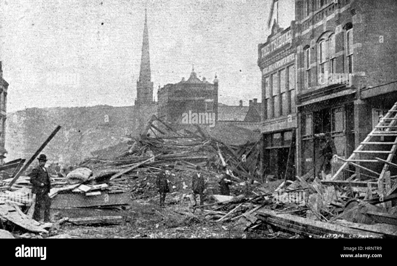 Johnstown Flood, 1889
