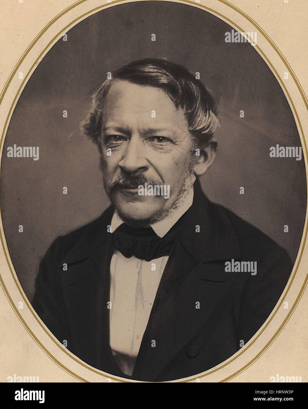 Heinrich Dove, Prussian Meteorologist - Stock Image