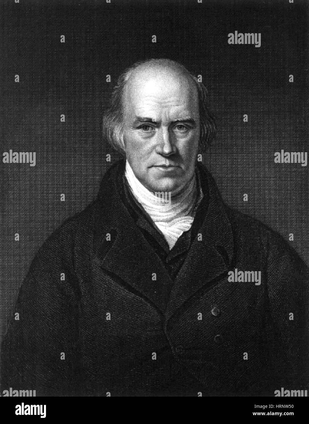 Davies Gilbert, English Mathematician - Stock Image