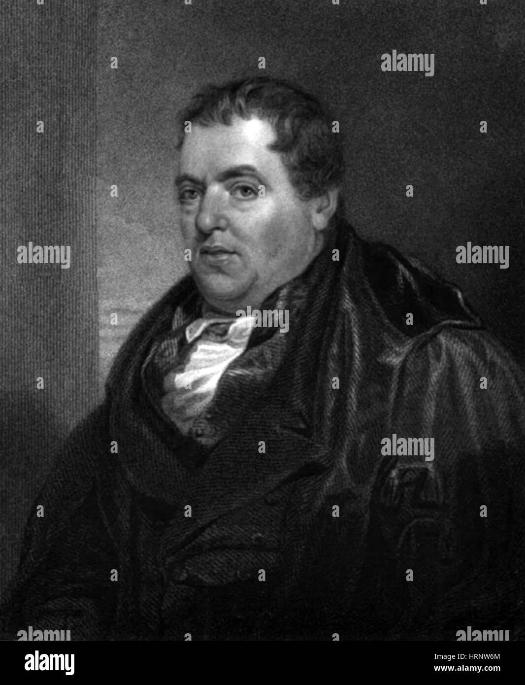 John Leslie, Scottish Physicist - Stock Image