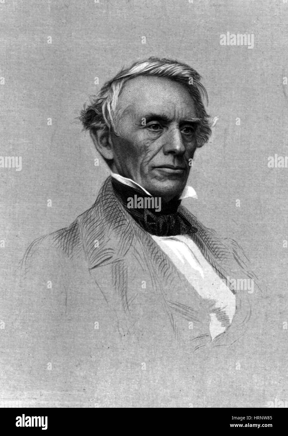 Samuel Morse, American Inventor - Stock Image
