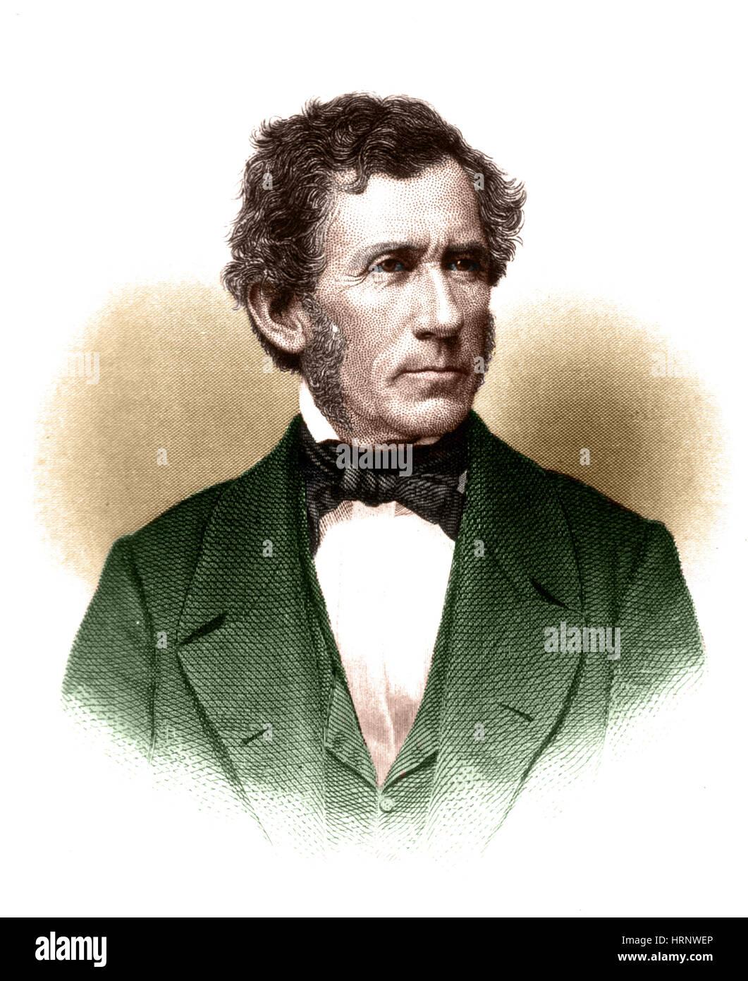 Daniel Drake, American Physician & Author - Stock Image