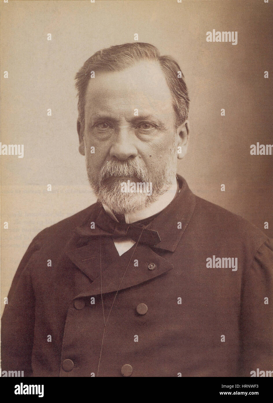 Louis Pasteur, French Bacteriologist - Stock Image