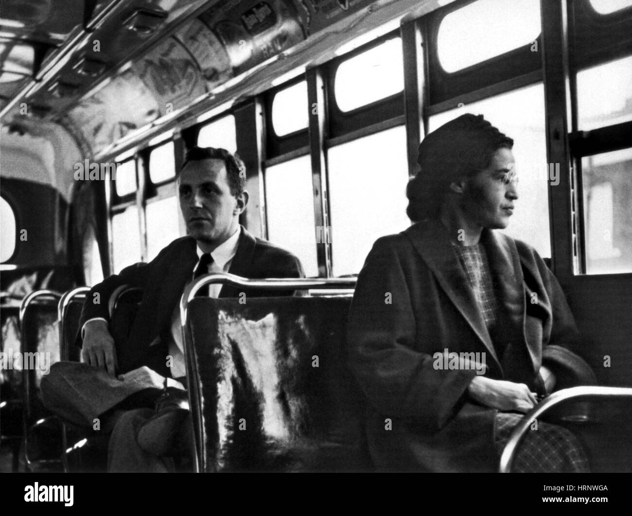 Rosa Parks, Civil Rights Activist - Stock Image