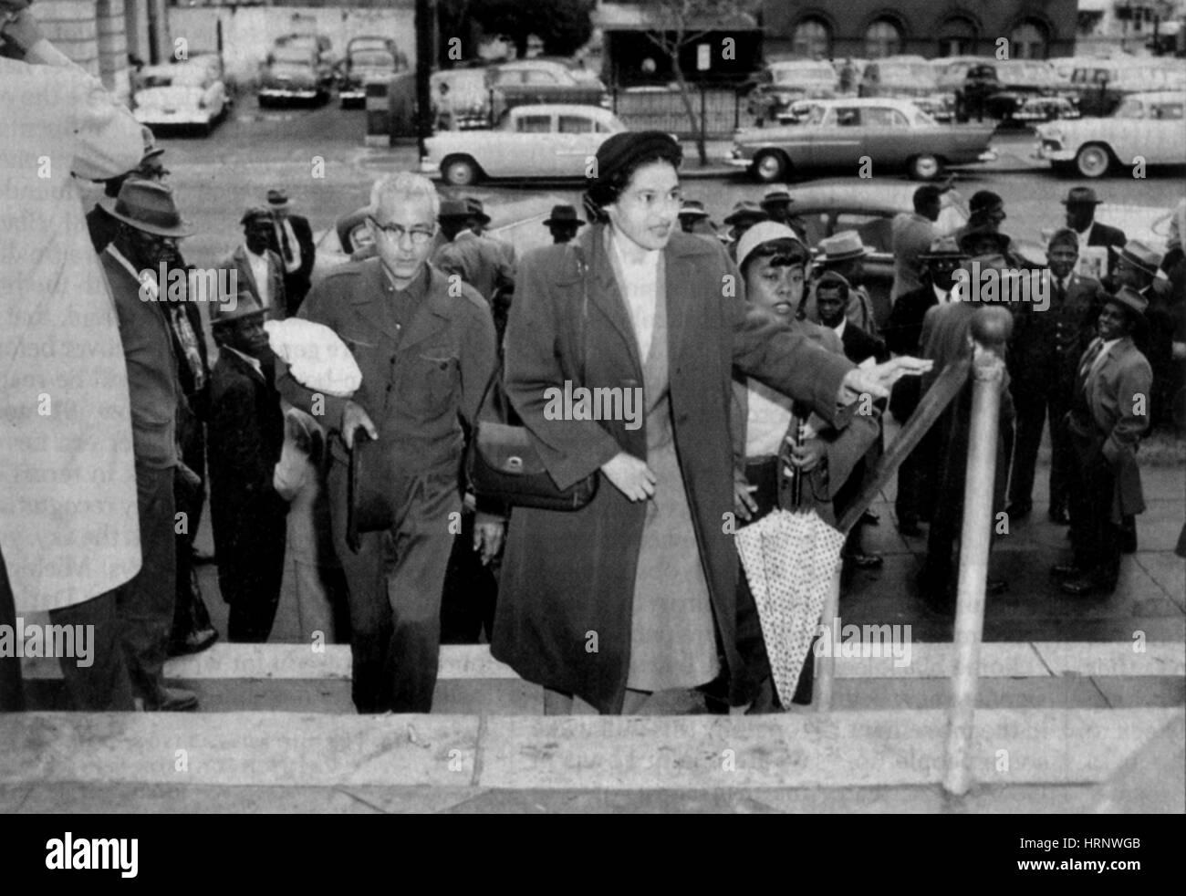 Rosa Parks, Civil Rights Activist - Stock Image