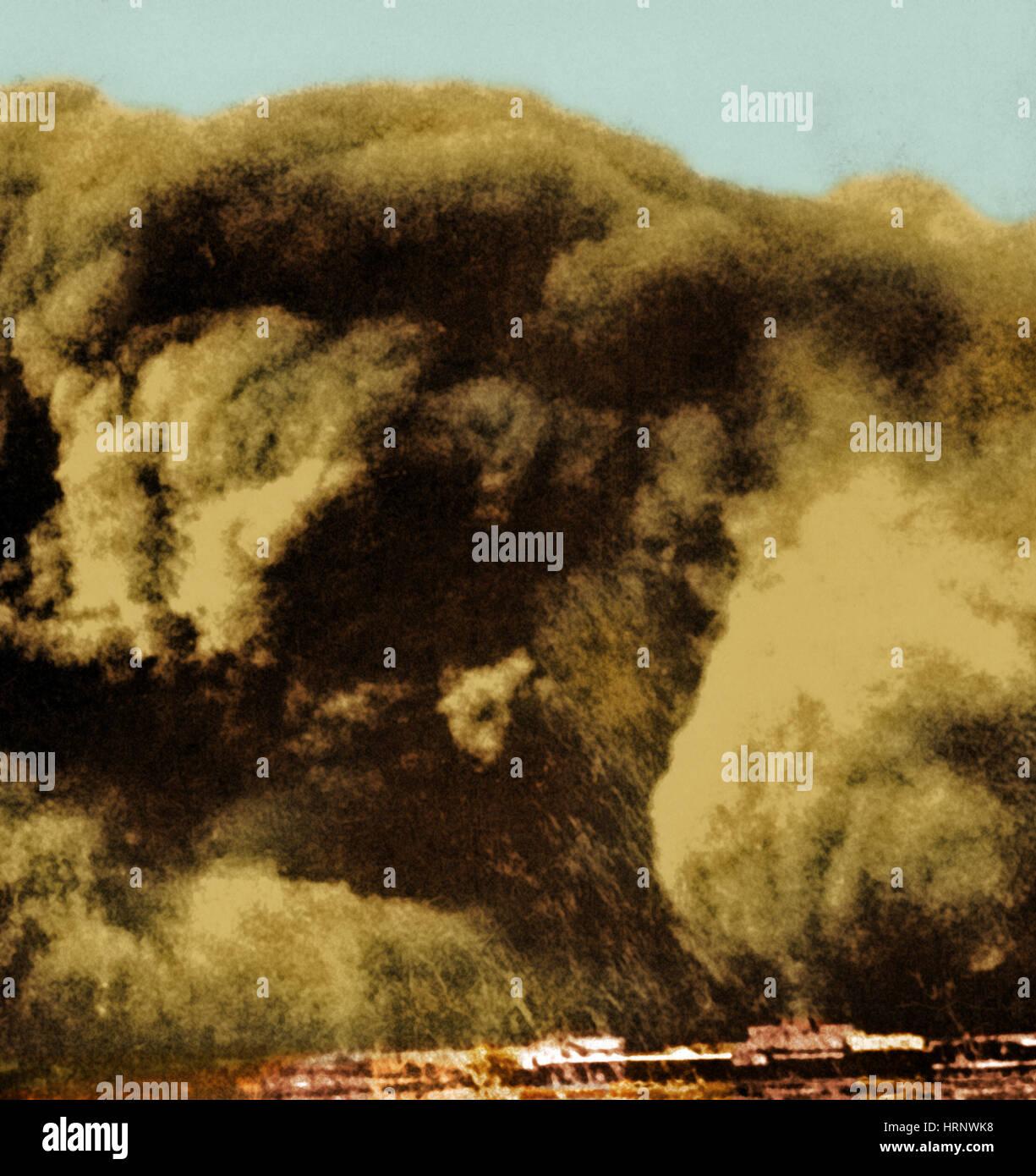 Dust Bowl, 1935 - Stock Image
