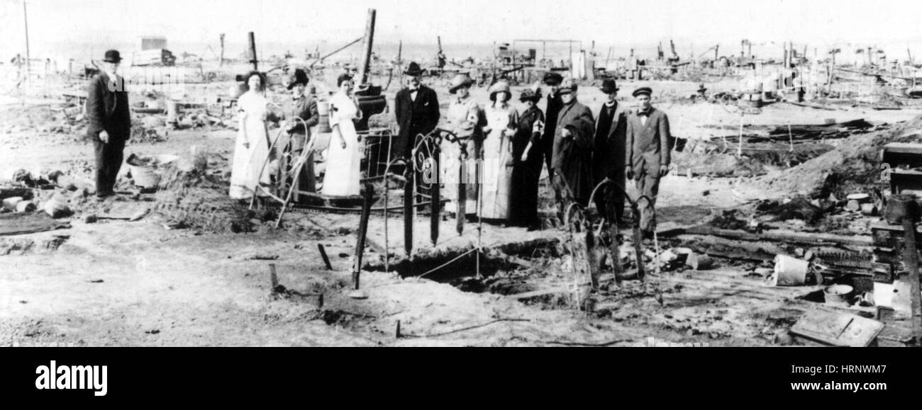 Ludlow Massacre, 1914 - Stock Image