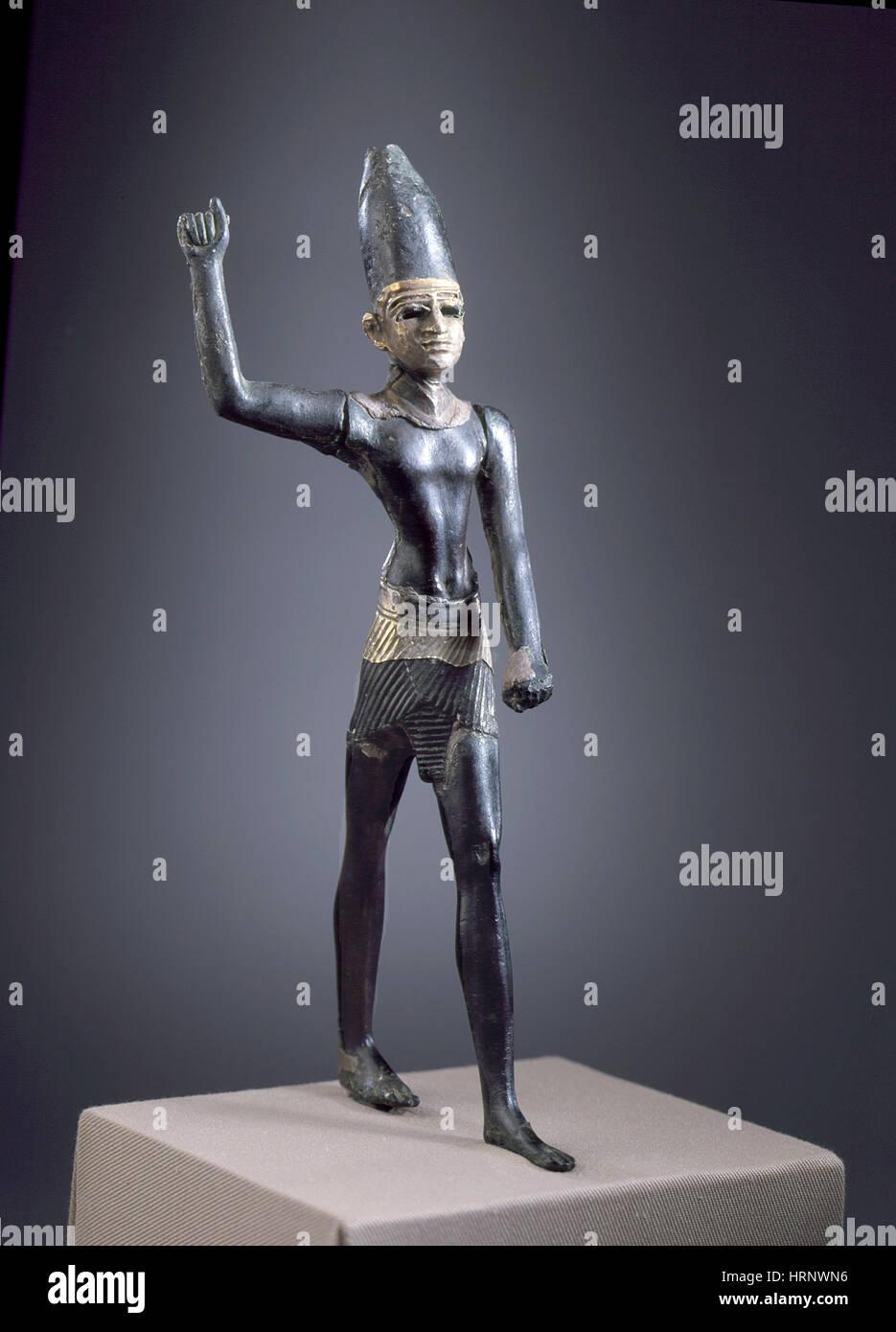 Syrian Warrior God - Stock Image