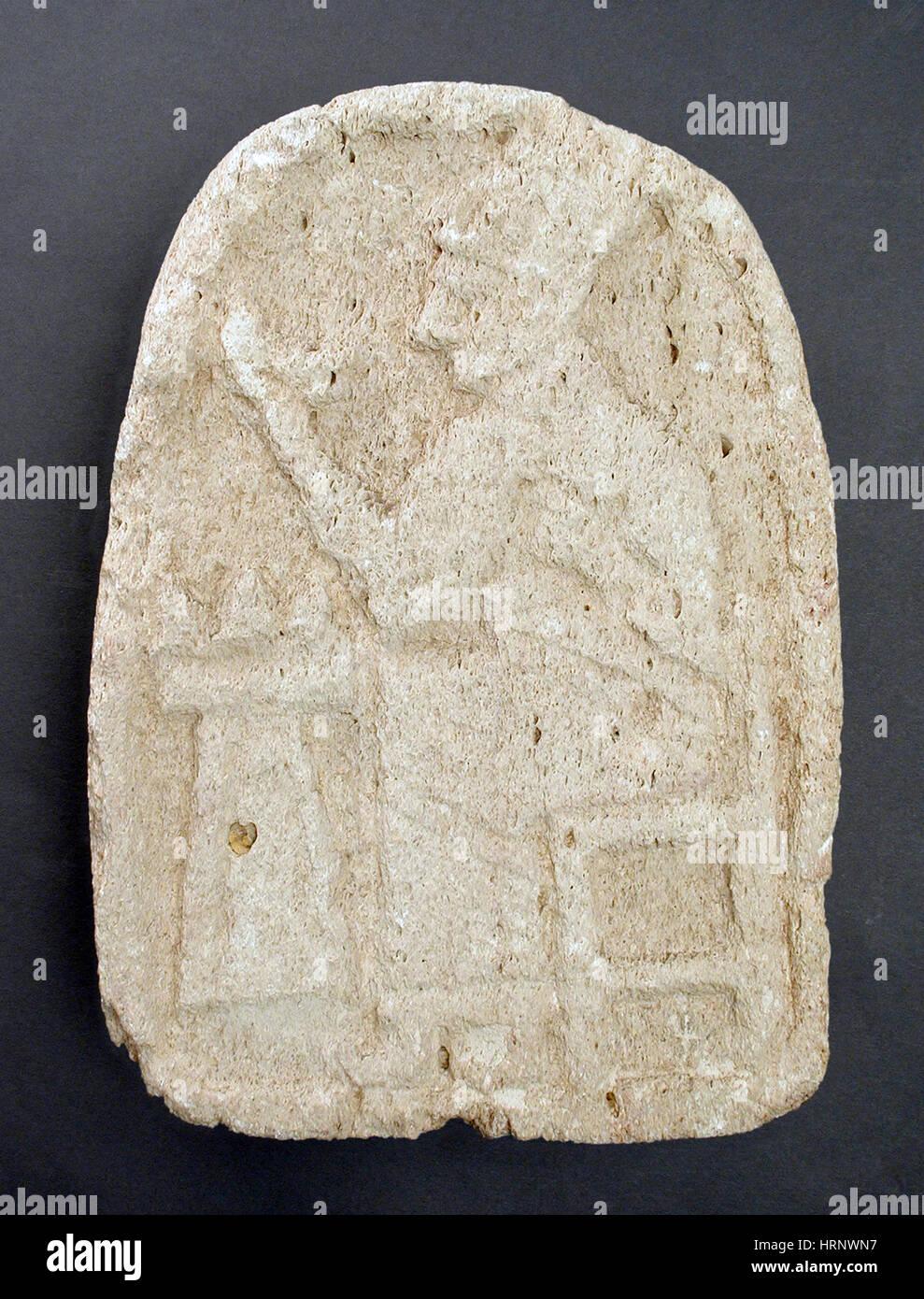 Hittite Bas-Relief, 1400-900 BC - Stock Image