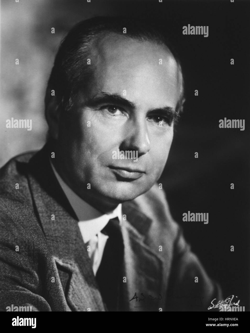 Andrew Fielding Huxley, English Physiologist - Stock Image