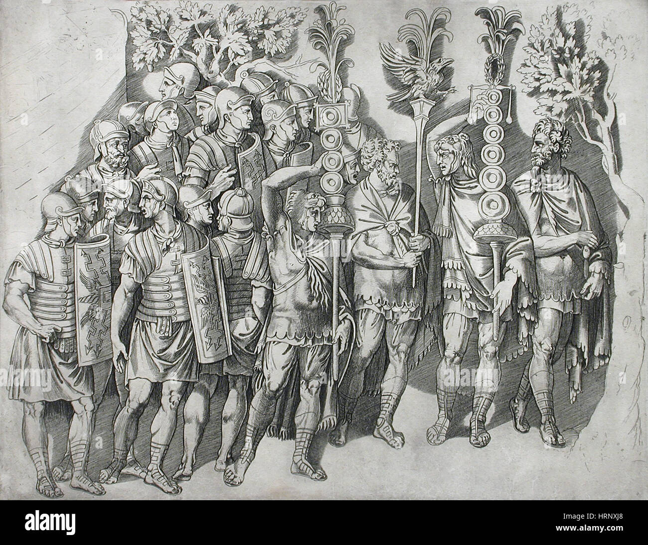 Roman Legion - Stock Image