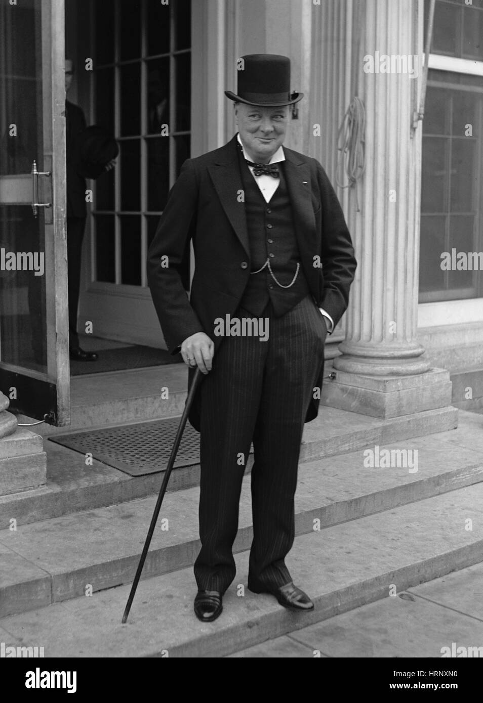 Winston Churchill, English Politician - Stock Image