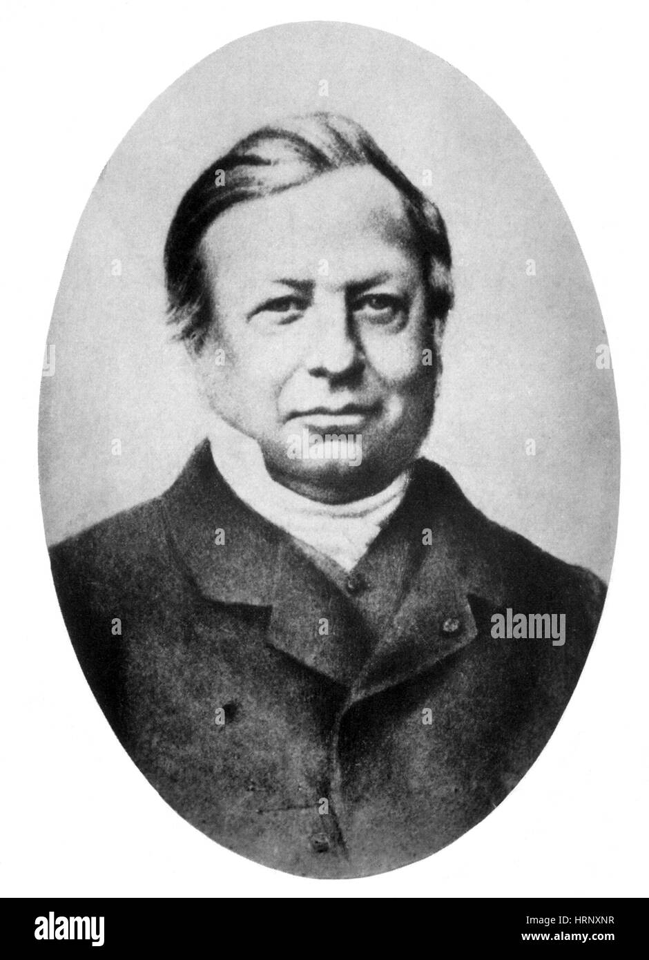 Joseph Liouville, French Mathematician - Stock Image