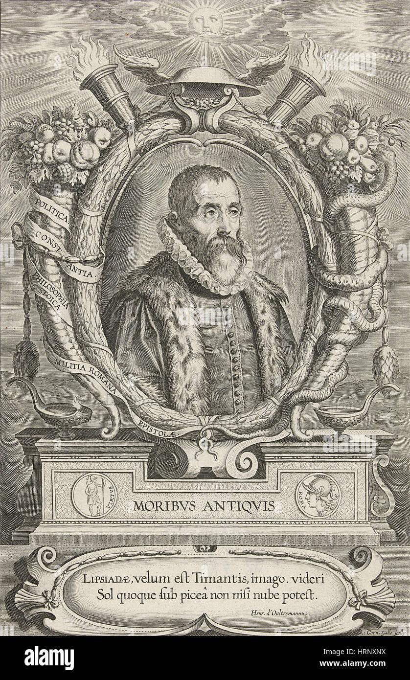 Justus Lipsius, Belgian Scholar - Stock Image