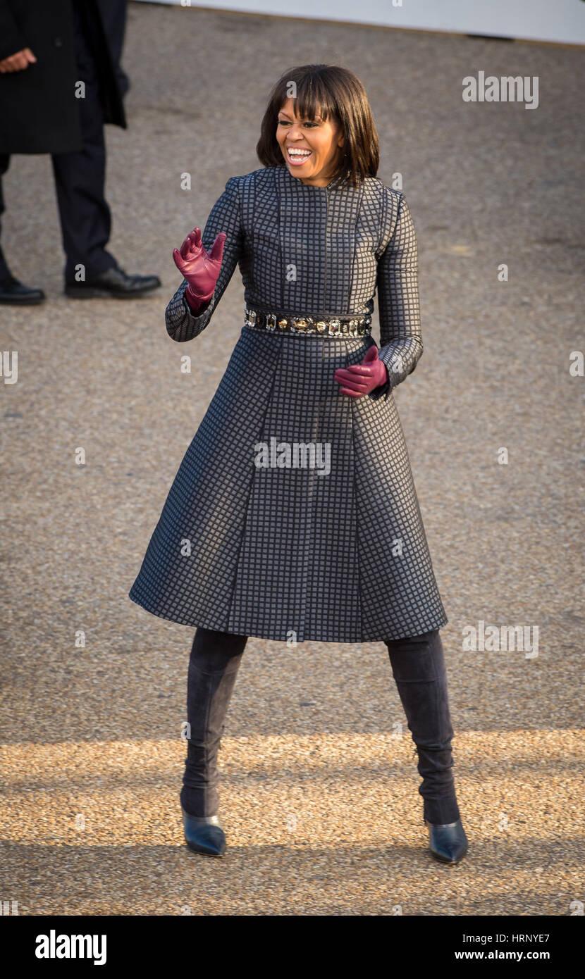 Michelle Obama - Stock Image