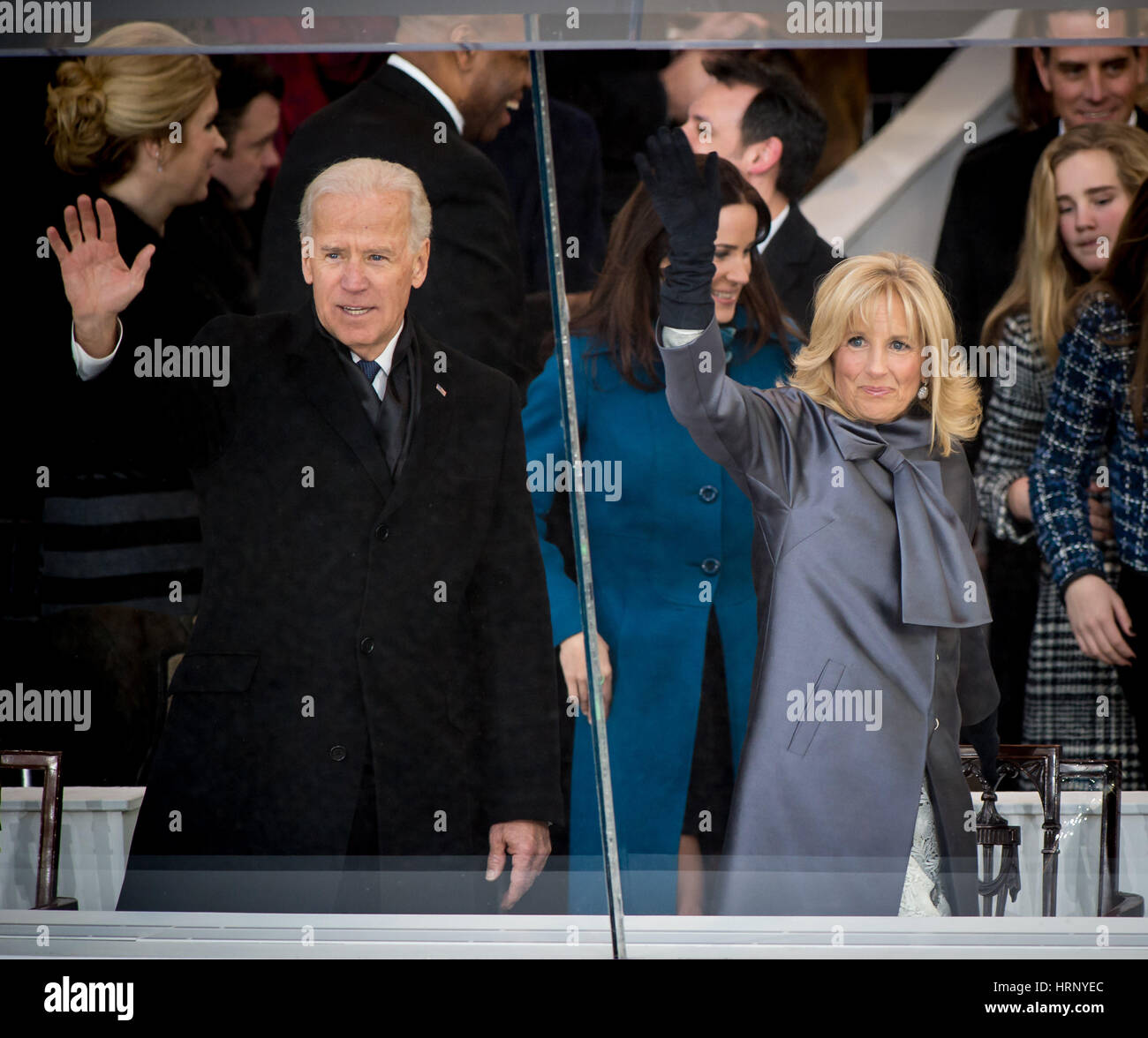 Joe and Jill Biden - Stock Image