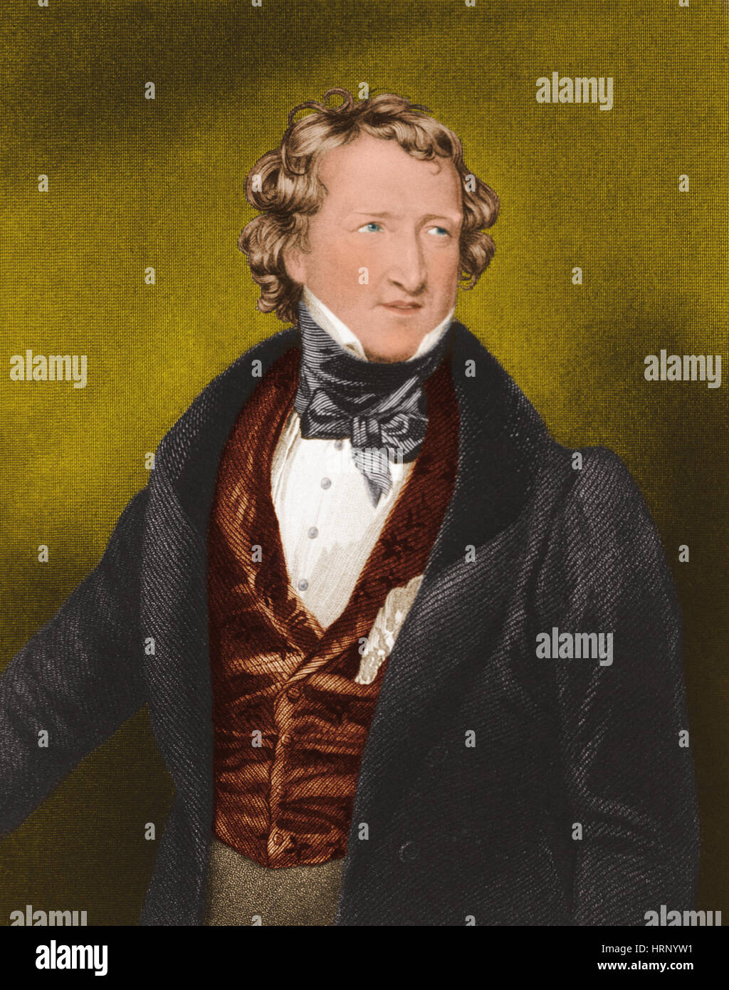 Thomas Wakley, English Coroner and Reformer Stock Photo