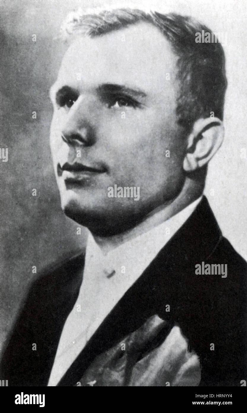 Yuri Gagarin, Soviet Cosmonaut - Stock Image