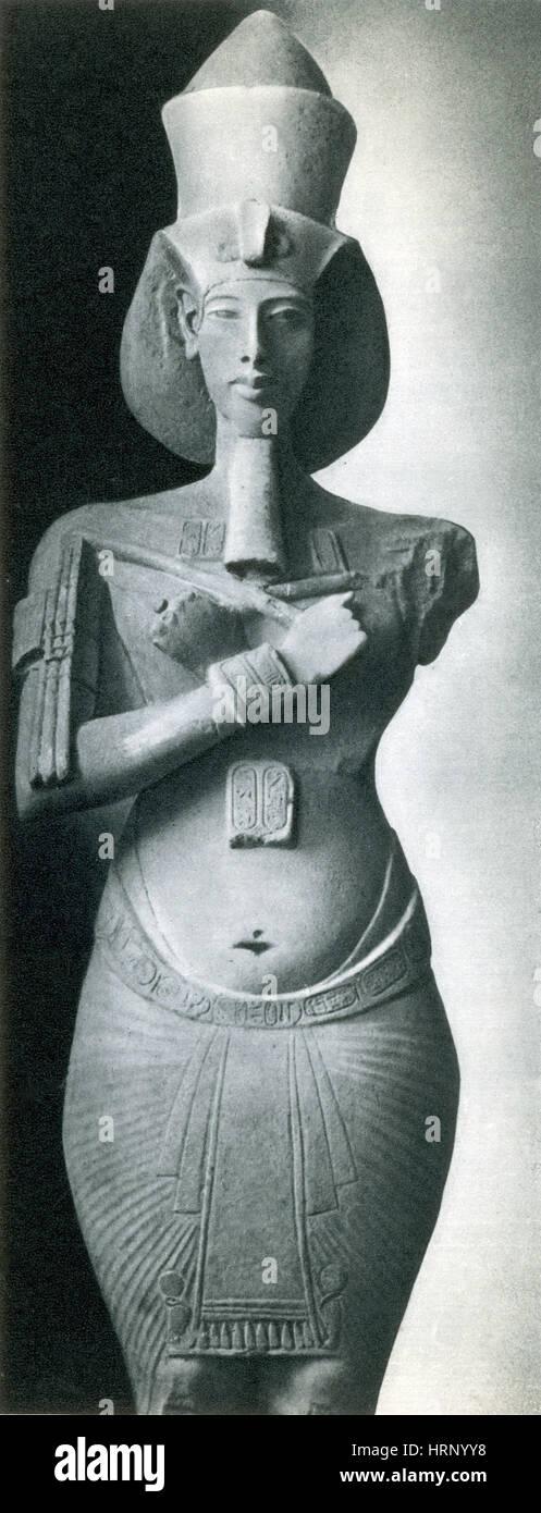Akhenaten, New Kingdom Egyptian Pharaoh - Stock Image