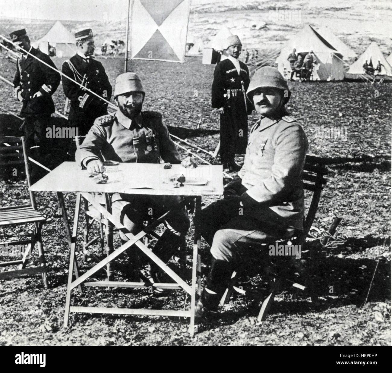 Djemal Pasha, WWI Ottoman Military Leader - Stock Image