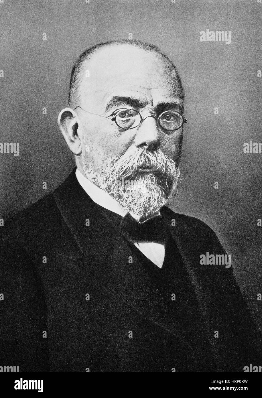 Robert Koch, German Bacteriologist - Stock Image