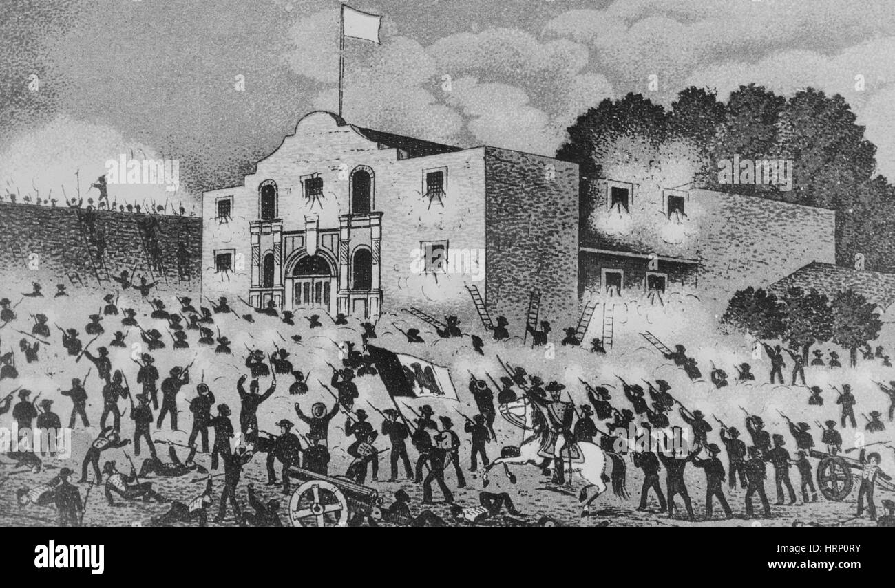 Battle of the Alamo, 1836