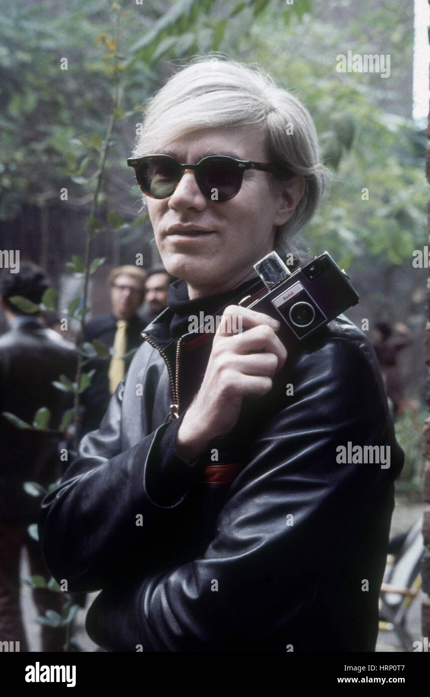 Andy Warhol, American Artist Stock Photo