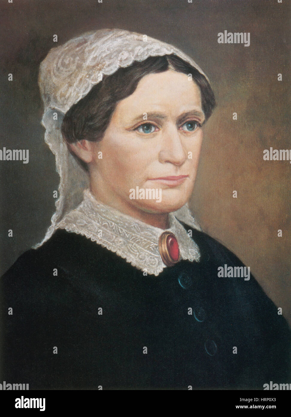 Eliza Johnson, First Lady - Stock Image