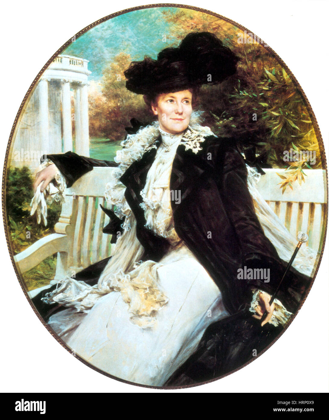 Edith Roosevelt, First Lady - Stock Image