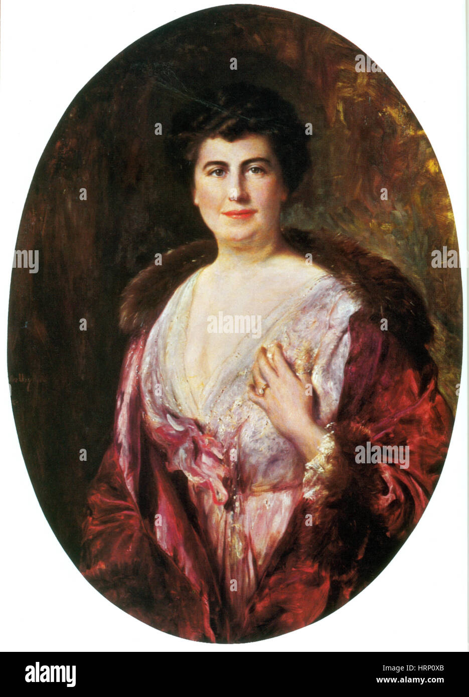 Edith Wilson, First Lady - Stock Image