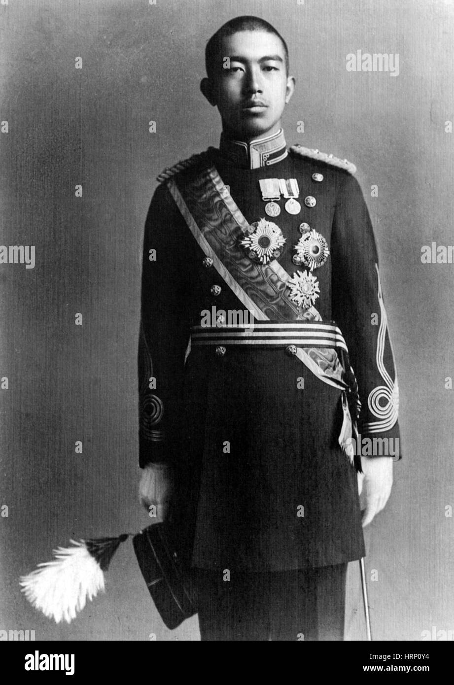 Crown Prince Hirohito, 1919 - Stock Image