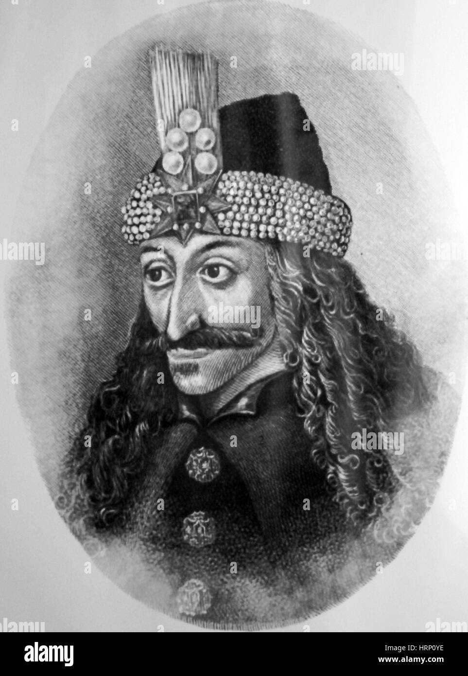 Vlad the Impaler, Prince of Wallachia - Stock Image