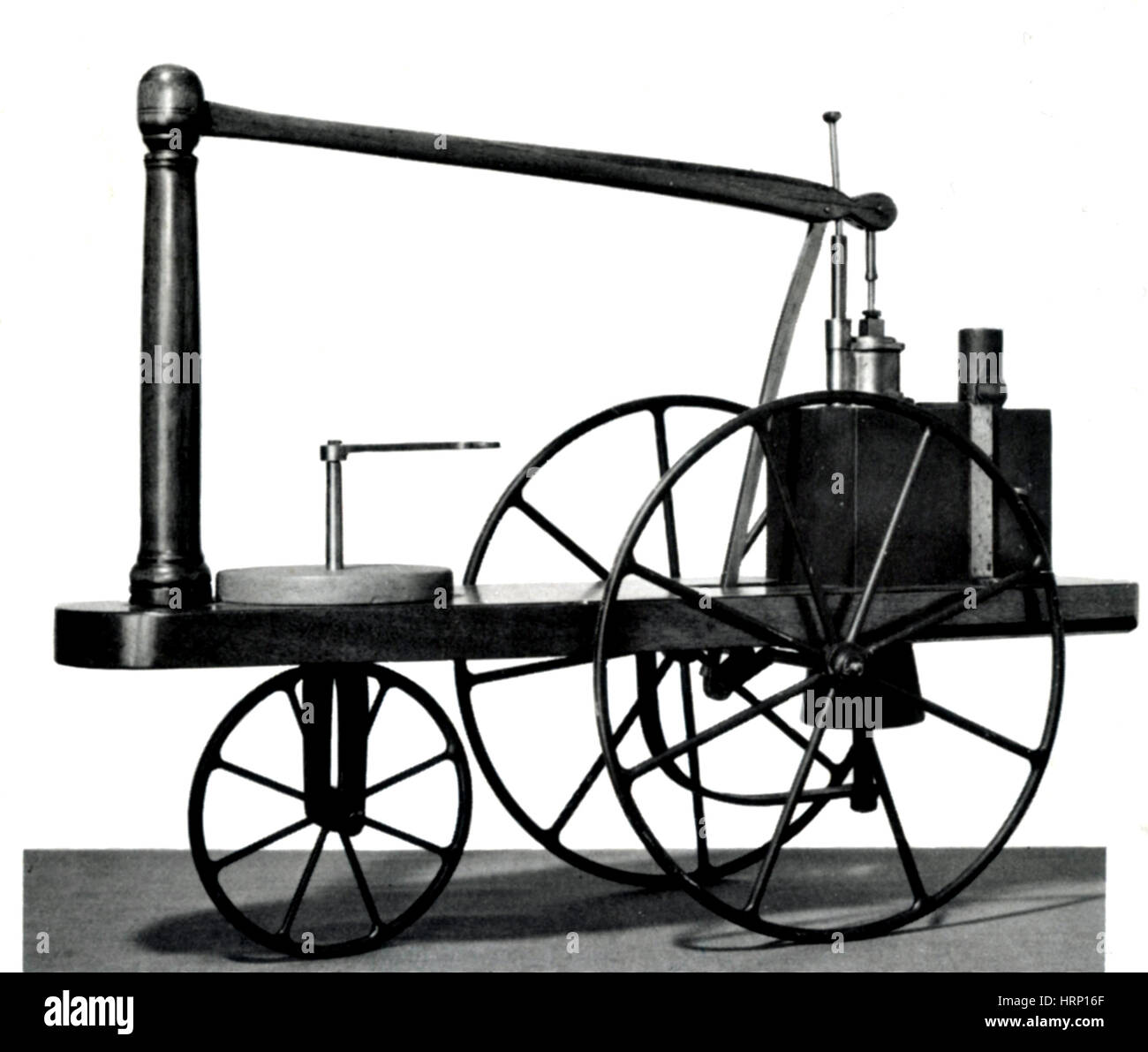 Murdoch Steam Carriage, 1784 - Stock Image