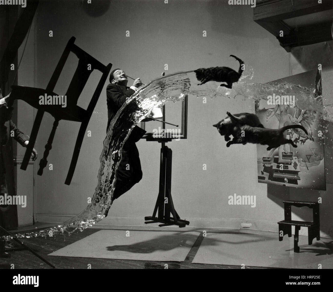 Salvador DalÌ_, Spanish Surrealist Artist - Stock Image