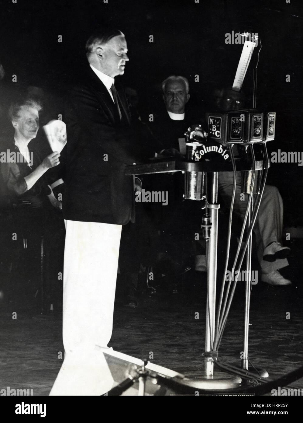 Herbert Hoover, 31st U.S. President - Stock Image