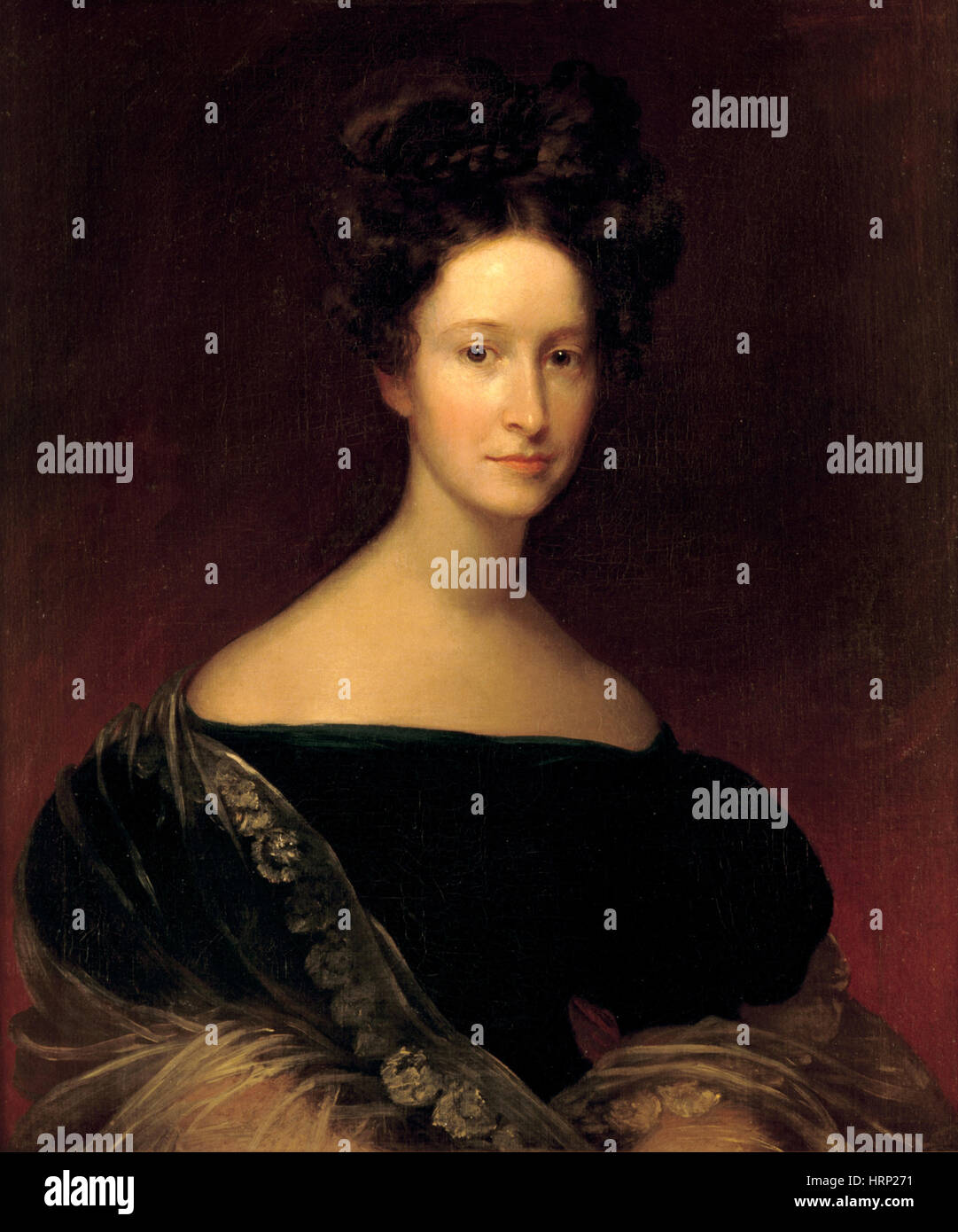 Emily Donelson, First Lady - Stock Image