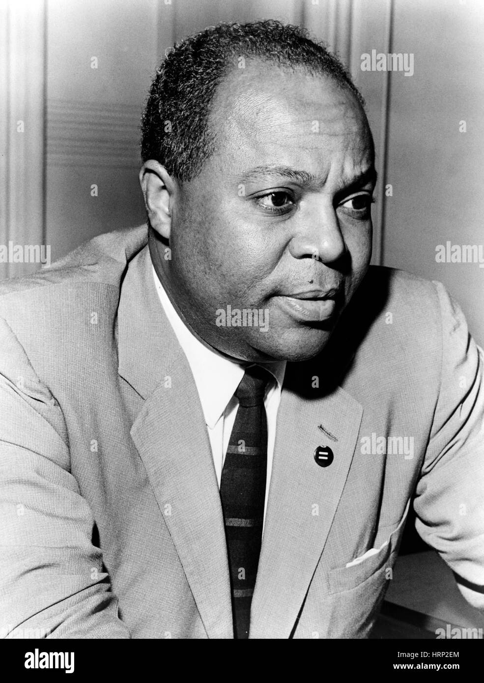 James Farmer, Civil Rights Leader - Stock Image