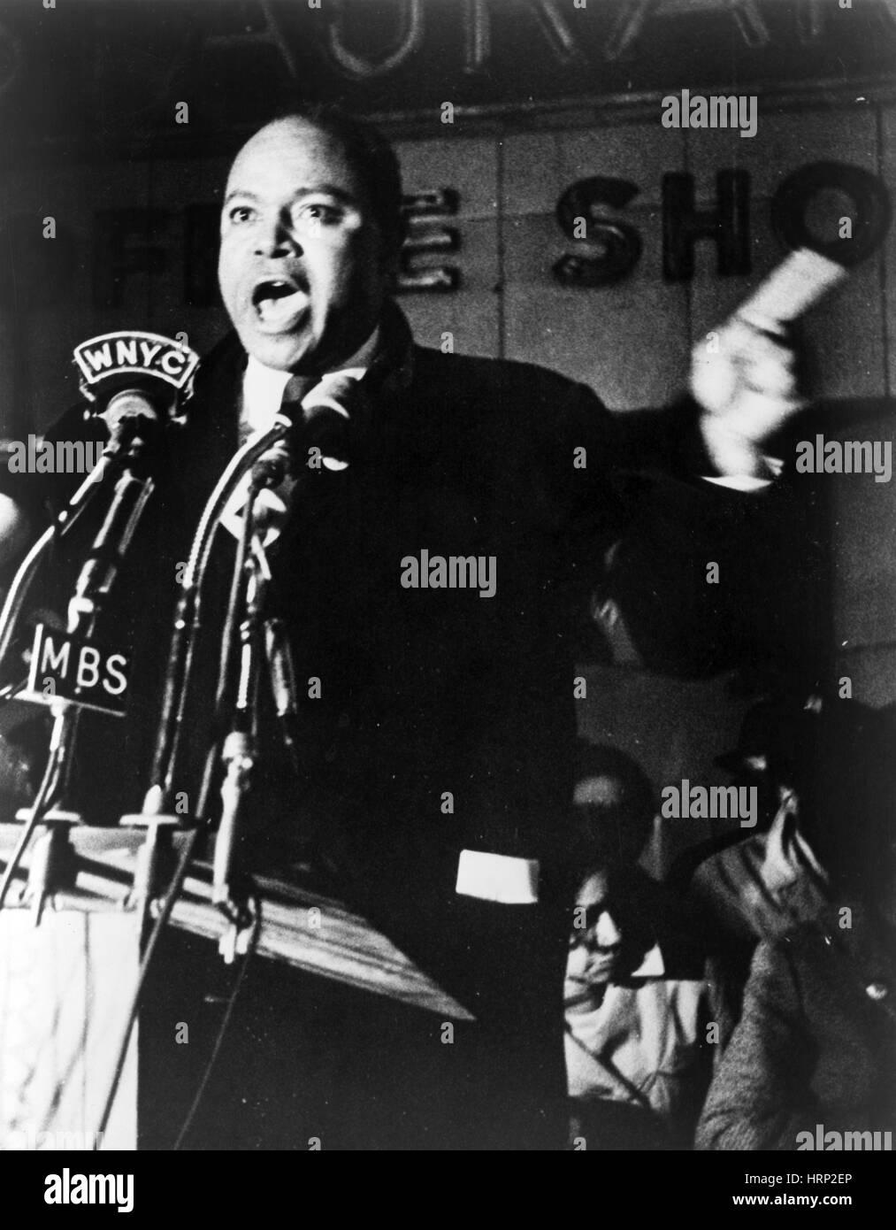 James Farmer, Civil Rights Leader - Stock Image