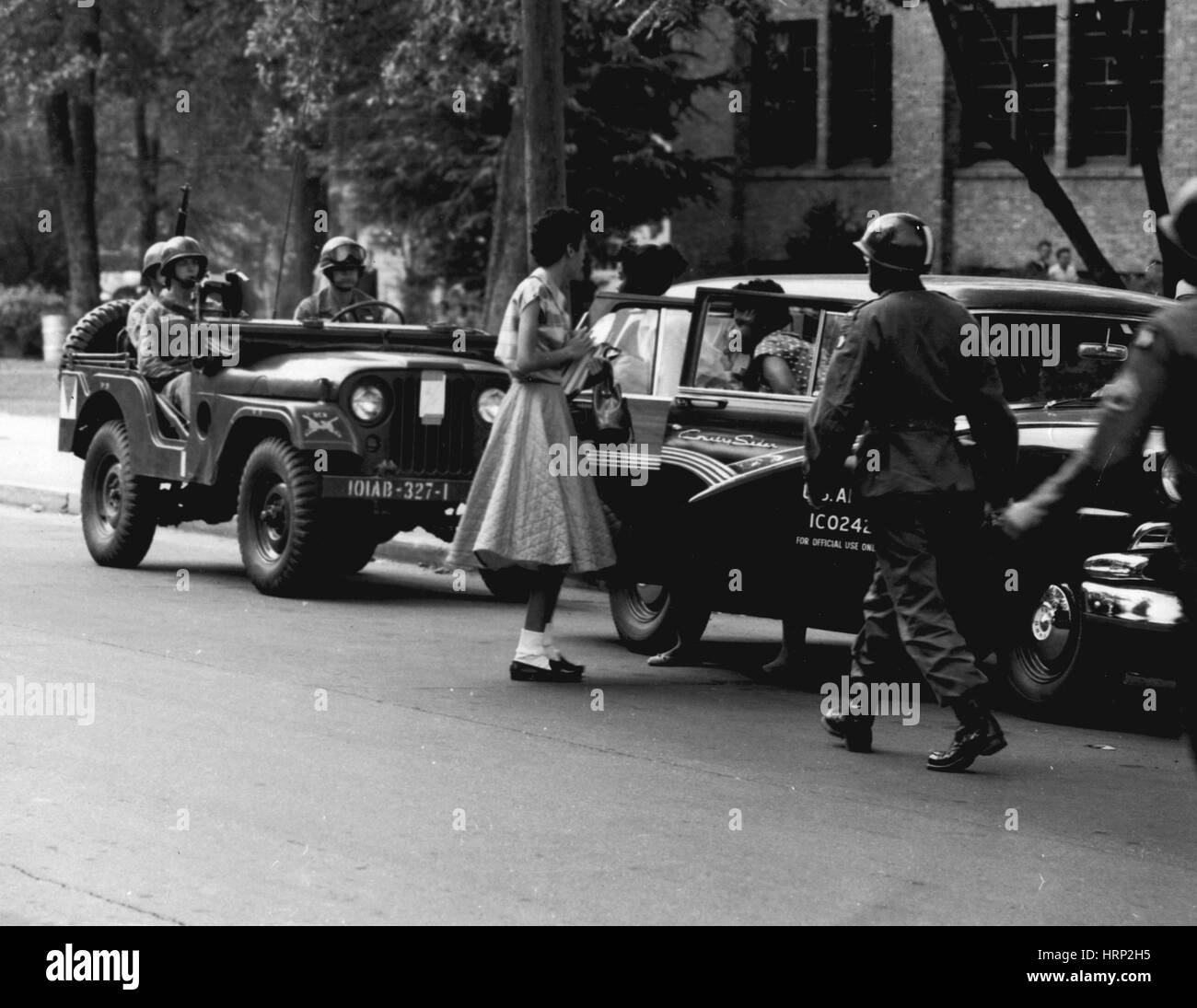 Operation Arkansas, Little Rock Nine, 1949 - Stock Image