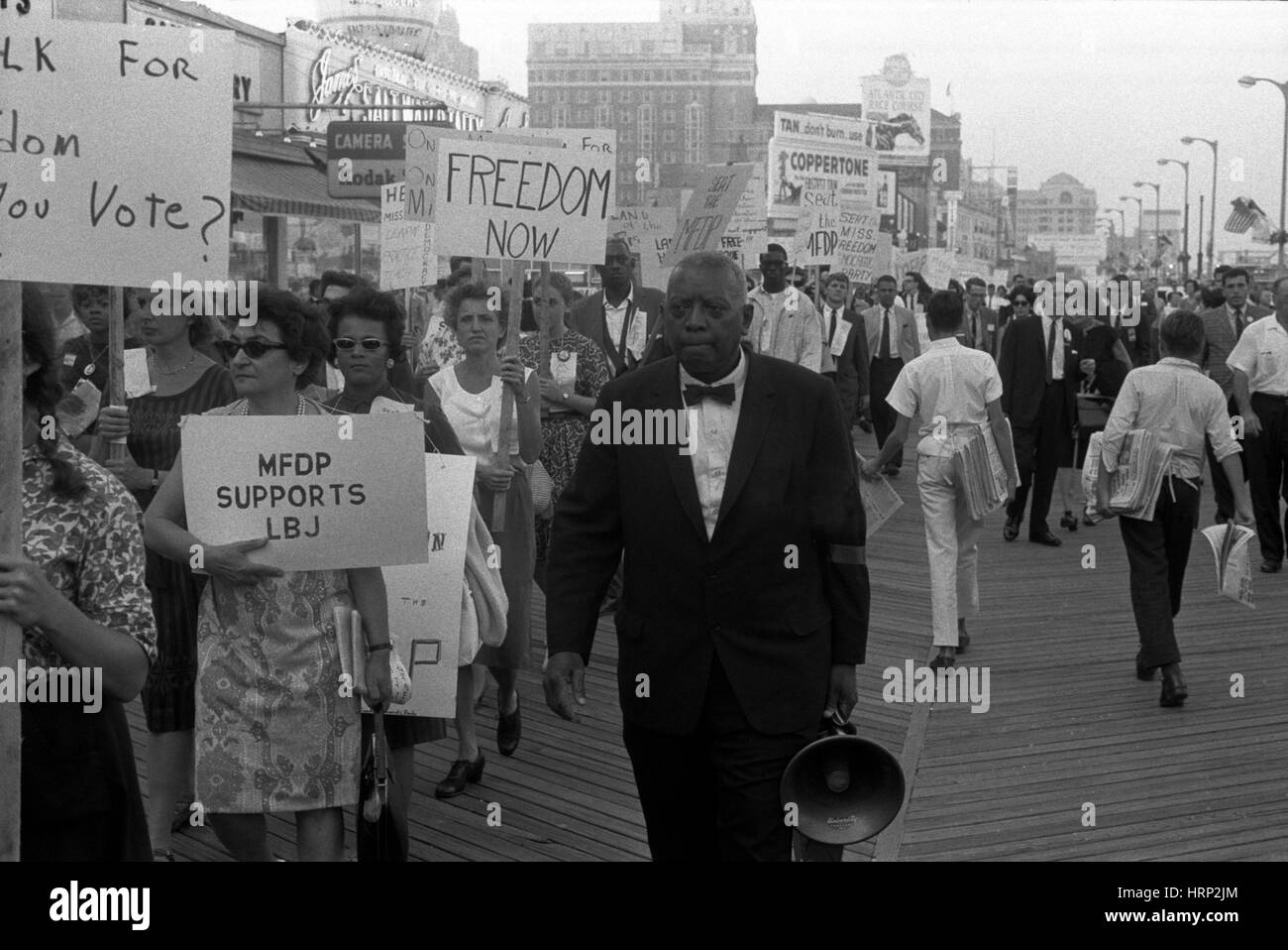 Mississippi Freedom Democratic Party, 1964 - Stock Image